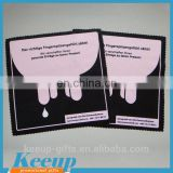 Cute Promotional Branded Logo Design Soft Glass Microfiber Cleaning Cloth