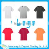 2015 popular design wholesale custom slim fit blank t-shirt