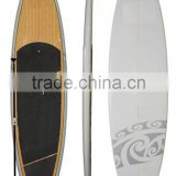 Popular water sports hot sale surfing board bamboo sup