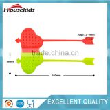 Hot cute heart Silicone Tea Infuser Loose Tea Leaf Strainer Herbal Filter Diffuser non-toxic
