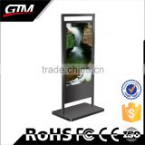 55'' Floor Stand Ad Player Big Size Floor Stand Advertising Player Oem Lcd Touch Screen Kiosk Digital Signage