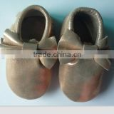 2015 Spring & autumn cool baby leather moccasin shoes