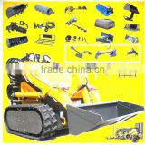 mini skid steer loader,mini digger,dingo Bobcat like,quick hitch,various attachments