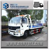 5tons Futon flatbed 4X2 Tow Truck