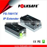 New product IP transmission, model FS-7001TX IP camera extender, active transmission over coax cable, IP transmission