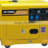 5kw 6kw 7kw silent small air cool portable diesel generator