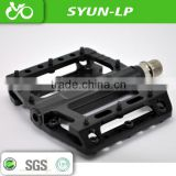 colorful aluminum mountain bike pedal sealed bearing bike pedal made from sanyun bike pedal factory oem different anodised pedal