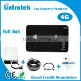Full set LTE 2600mhz 4G signal repeater/mobile signal booster/cell phone amplifier