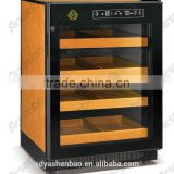 Cigar cooler/Compressor cigar chiller/dual temperature zone cigar humidor/mini bar refrigerator