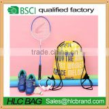 Reisenthel Top quality BSCI customized Logo sport daily drawstring backpack wholesales cheap unique best gym bag for men