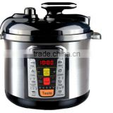 5L mechanical multi function eletric pressure rice cooker/LED panel