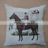 jacquard cushion polycotton cushion for home &hotel decoration