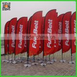 Tongjie Custom Advertising Feather Beach Flags,Custom Advertising outdoor teardrop flying feather flag