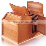 Mini far infraed half body sauna cabin