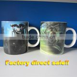2014 liling xinqiang hot ceramic mugs wholesale mugs and coffee mugs bestiful mugs with new design coloful logo free