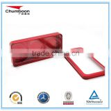 rectangle PVC window travel chocolate tin box / factory OEM heart shape insert metal box / good price tin can