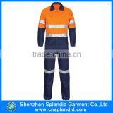 Custom safety flame retardant t/c hi vis orange work coverall                                                                                                         Supplier's Choice