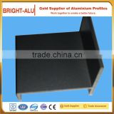 High quality adjustable extruded aluminum bend angle connectors aluminum brackets profiles