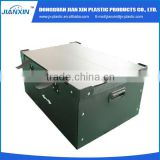 Competitive price corrugated plastic box manufacturing process
