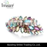fashion jewelry rhinestone Pearl Barrettes Clamp Flower Hair Clip Hairpin Headwear Hair Accessories