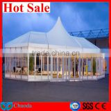 2014 Cheap hot sale CE ,SGS ,TUV cetificited aluminum alloy frame and PVC fabric air conditioned tents