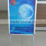 Aluminum a board pavement sign 25mm poster stand sign holder,A2 A-Board Pavement Sign