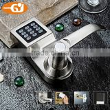 Keyless digital keypad password code spring bolt access electronic door locks