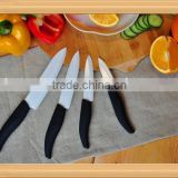 "New 3""+4""+5""+6"" Ceramic Kitchen Cutlery set with sharp blade and soft touch handle packed in gift window box"