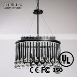 Crystal chandeliers pendant lights retro suspended ceiling lighting interior residential led candle light ceiling Lamp