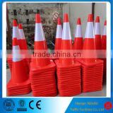 Safety equipment road warning traffic pvc cone