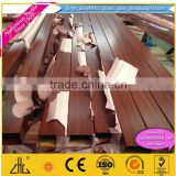 China top supplier wooden aluminium profiles / Brilliance China Supplier OEM ISO9001, wood aluminium profiles