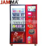 Snacks and Beverages Combo Vending Machine indoor playground or mall coffee vending machine