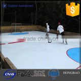 pe material hockey rink/ skate home/inflatable hockey rink