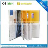 lcd screen advertising video booklet/ TFT screen video booklet card/business video booklet
