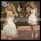 C0043 White sample cocktail dresses pictures 2013 teenage knee length short chiffon cocktail dresses