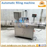 Small electric tomato paste chilli paste ketchup filling and packing machine