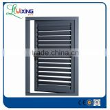 anti theft louvre aluminium window with sub frame