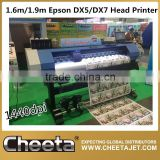 Good Machine 1.6m Fortune YF-1700S dx5 print head eco solvent printer for Wall Paper printing