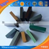 Great! colorful atomized aluminium powder 6063-T5 alloy square aluminium tube
