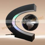 acrylic globe magnetic levitation display rack /globe magnetic levitation floating display/magnetic floating display