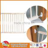 baby safety gate in wood / child safety wood gate / baby safety door gate