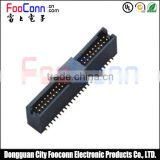 dual row 44 pin SMT box header 1.27mm match with female header