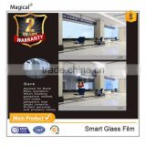 Customized Privacy And Safe Bank Counter Glass Curtain Wall Smart Film