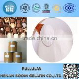 Whiteness 70-90 food additives pullulan powder for candy coating
