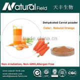 OEM Welcome mixed fruit vegetable dried carrot powder