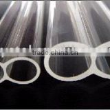 Clear Fused Twin Quartz Glass Rod with CE