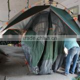 Factory sale and 3 Person Double Layer Ripstop Polyester Family Camping Tent With Fiberglass Pole