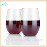New 100%tritan unbreakable plastic cup wine glass