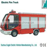 Electric fire trucks, 1.3 m3 water tank, for emergency fire fighting in closed area, EG6040F