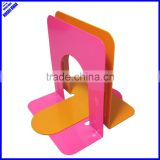 "High quality colored classic 5"" metal library bookends"